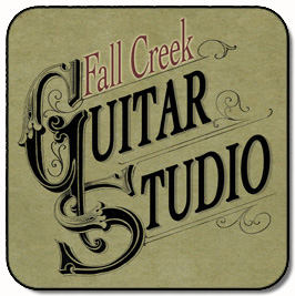 Fall Creek Guitar Studio Logo